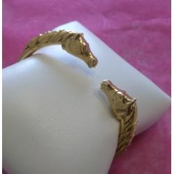 Bracelet Jonc Tête de cheval
