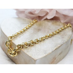 Collier en Or jaune 18k