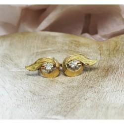 Boucles d'oreille Ancienne en or jaune