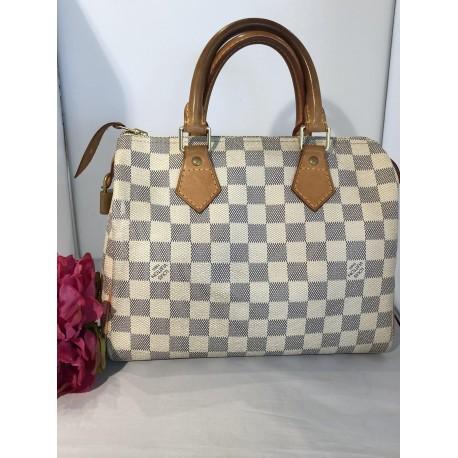 Sac Louis Vuitton speedy 25 Azur