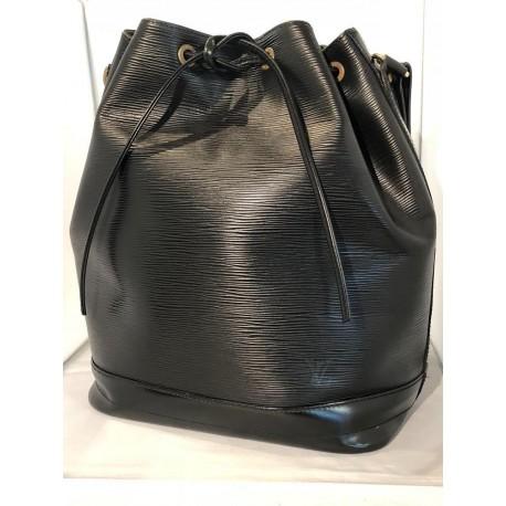 Sac Louis Vuitton Noé cuir épi Noir