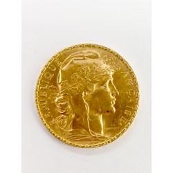 Pièces 20frs en or