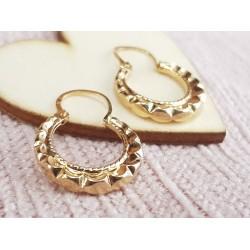 Boucles d'oreille Créoles en or