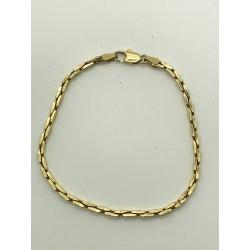 Bracelet Maille forçat épaisse en or