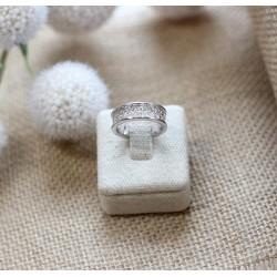 Bague style Alliance Diamants