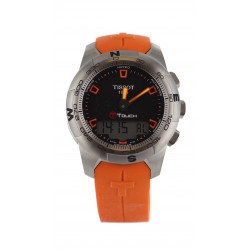 Montre Tissot T-Touch II orange et noir