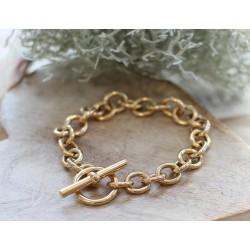 Bracelet Hermes en or jaune
