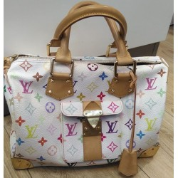 Sac à main Louis Vuitton speedy 30 blanc