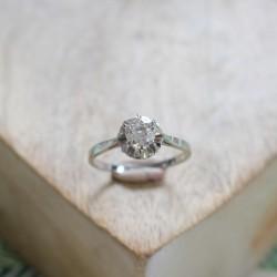 Solitaire Diamant 0.90ct