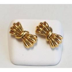 Boucles d'oreille Noeuds en or