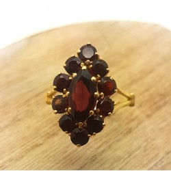 Bague forme Marquise