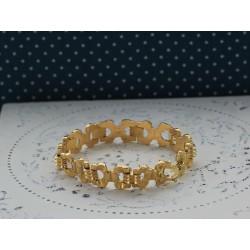 Bracelet Tank en Or jaune