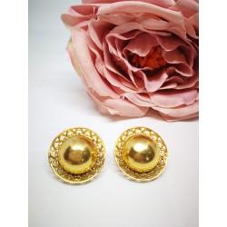 Boucles d'oreille en or jaune