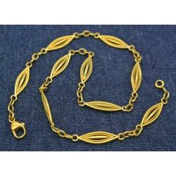 Collier maille Filigrane en or jaune