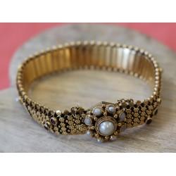 Bracelet ruban Ancien en Or jaune