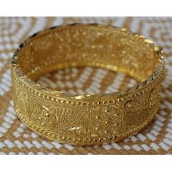 Bracelet Rigide Oriental en Or jaune