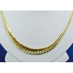 Collier Chute Anglaise en Or jaune 18k