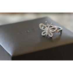 Bague Gucci en or blanc et Diamants