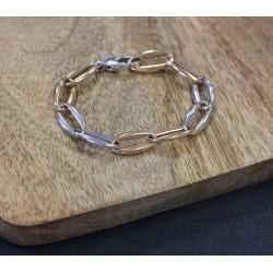 Bracelet anneaux 2 Ors