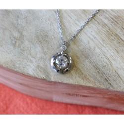 Collier Diamant Solitaire de 0,60cts