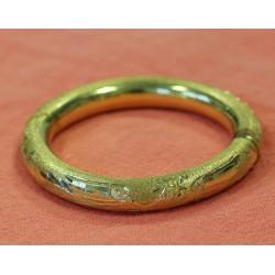 Bracelet Jonc Oriental en or jaune 18k