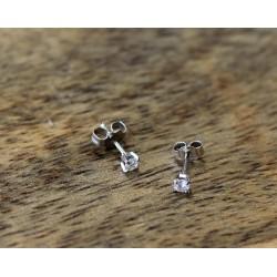 Boucles d'oreille Diamants