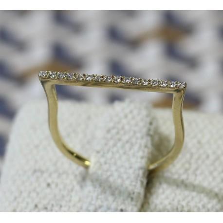Bague Messika en Or jaune avec diamants