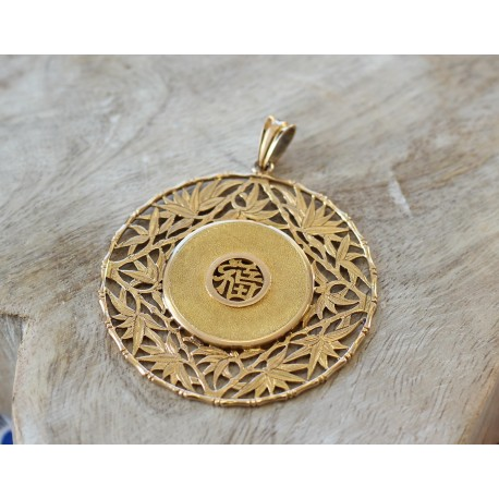 Pendentif médaille Chinoise
