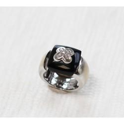 Bague Mauboussin Subtile nuance onyx noir et diamants