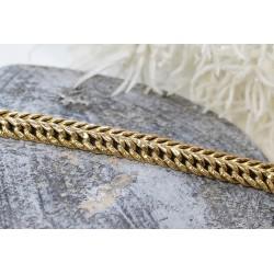 Bracelet Maille Fantaisie en Or jaune