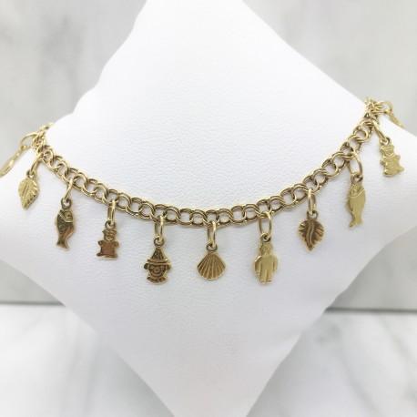 Bracelet Pampilles en Or jaune