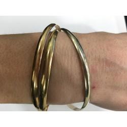 Bracelet jonc Liés 2 ors