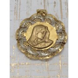 Pendentif en or Vierge