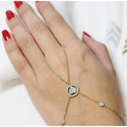 Bracelet Bague en Or jaune