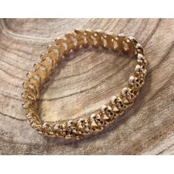 Bracelet ruban maille fantaisie