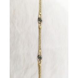 Bracelet en Or jaune avec Saphir