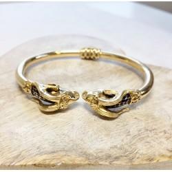 Bracelet Jonc Béliers en Or jaune