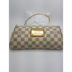 Pochette Louis Vuitton Eva damier azur
