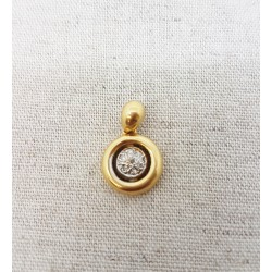 Pendentif en Or jaune avec Diamants