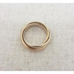 Bague 3 anneaux or