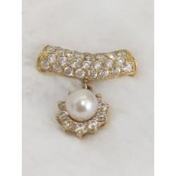 Pendentif en or perles et Oxydes