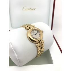 Montre Cartier Colisée en or jaune