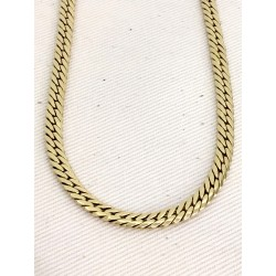 Collier en or jaune Maille anglaise