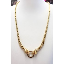 Collier Pantheres en or