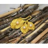 Broche en or jaune