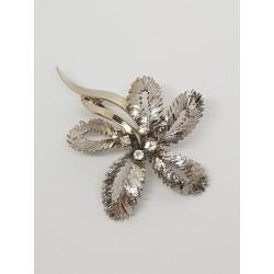 Broche ancienne Or blanc et Diamants