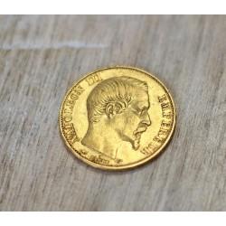 Pièce 20 Francs Napoléon III 1858