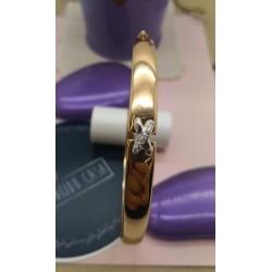 Bracelet or Rose et Oxydes