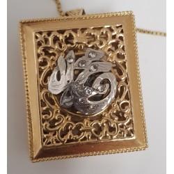 Collier Chaine + Pendentif Coran