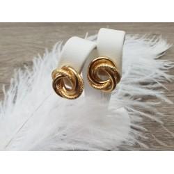 Boucles d'oreille en or